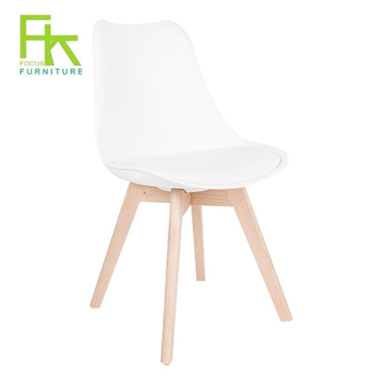 Swell Beech Wood Leg White Plastic Dining Chair China Dining Bralicious Painted Fabric Chair Ideas Braliciousco
