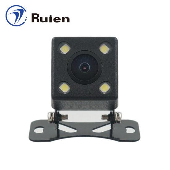 1.3 Megapixel HD Camera, 6 Glass Lens, Starlight Night Vision, Night Vision Reversing Camera Dull Night Vision Car Camera, 200 Degrees Lens Angle