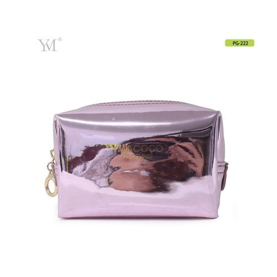 Beauty Custom Gift Hologram Makeup Pouch Toiletry Bag for Cosmetics
