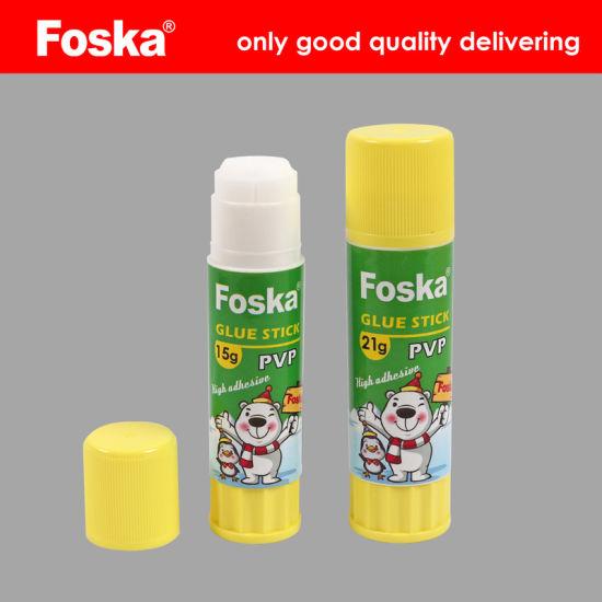 Foska School Adhesive Stationery Pvp Glue Stick