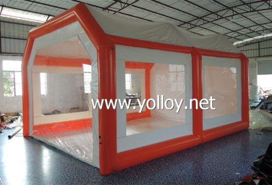 Inflatable Car Sandblasting Tent