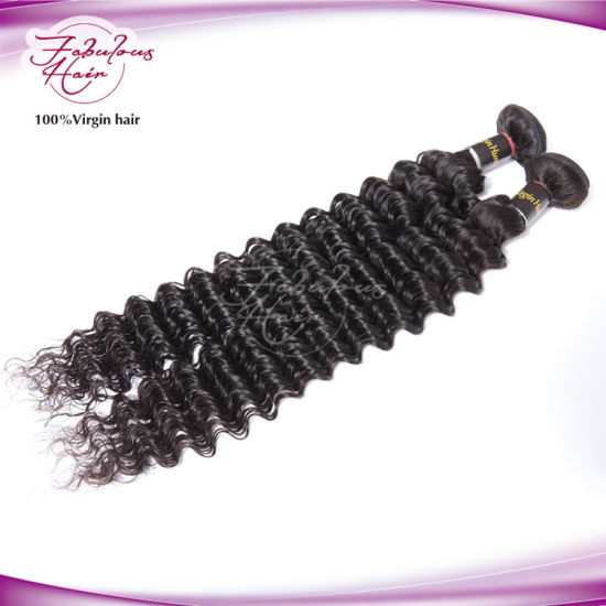 8A New Arrival Italian Curly Peruvian Virgin Hair pictures & photos