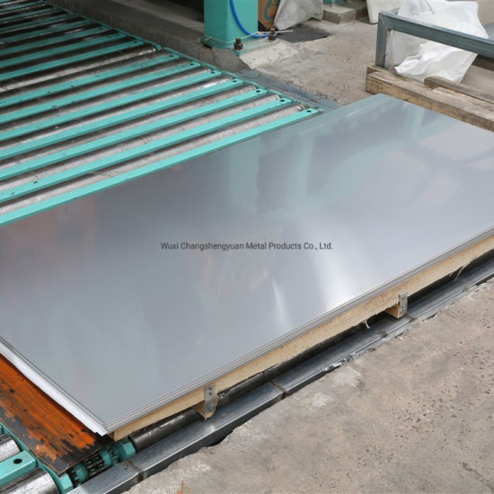 Mill Test Certificate 316 Stainless Steel Sheet with No. 1