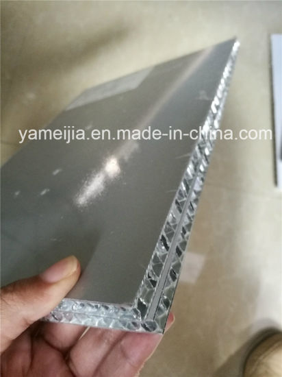 10mm Thick Silver Grey Aluminum Honeycomb Panels pictures & photos