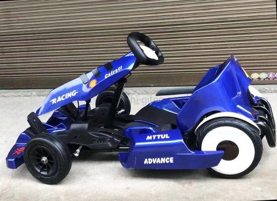 China New Popular Kids Karting Racing Scooter Crazy Drift