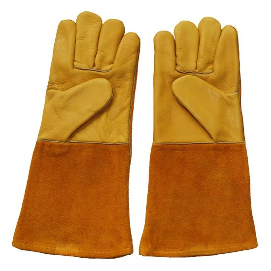 Safety Workers Welding Gloves From Gaozhou Manufacturer pictures & photos