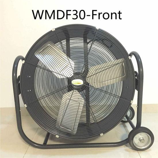 30 Inch Stand Fan Cooling Fan Drum Fan Exhaust Fan For Patio