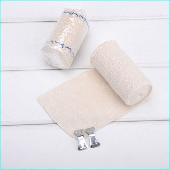 China Medical Wound Dressing Crepe Bandage Cotton Crepe Elastic