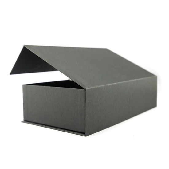 Available Offer Full Black Square Gift Cardboard Paper Packaging Box