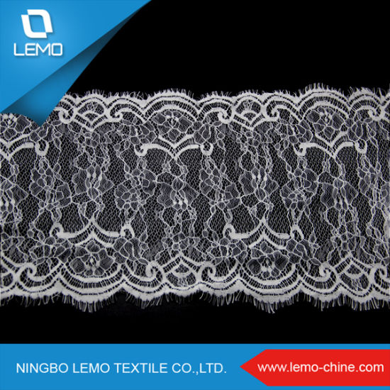 Fancy Elastic Softextile Cord Lace Fabric, Type of Lace Material pictures & photos