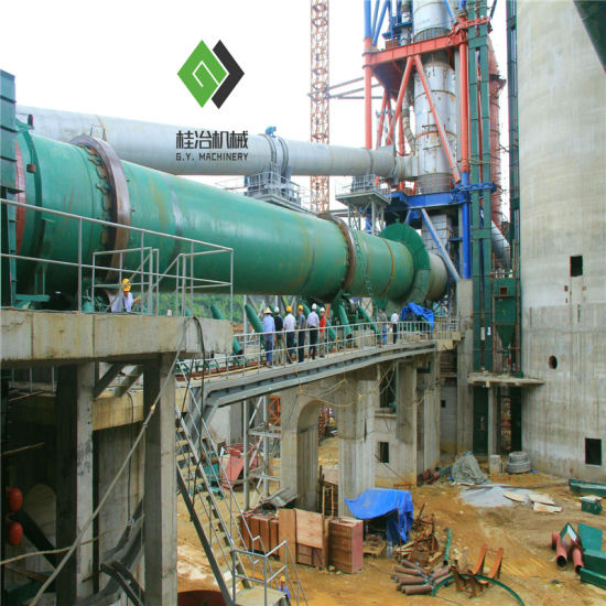 Energy-Saving Cement Production Line (1000 tons to 3000 tons per day) with Advanced Technology Suppert pictures & photos