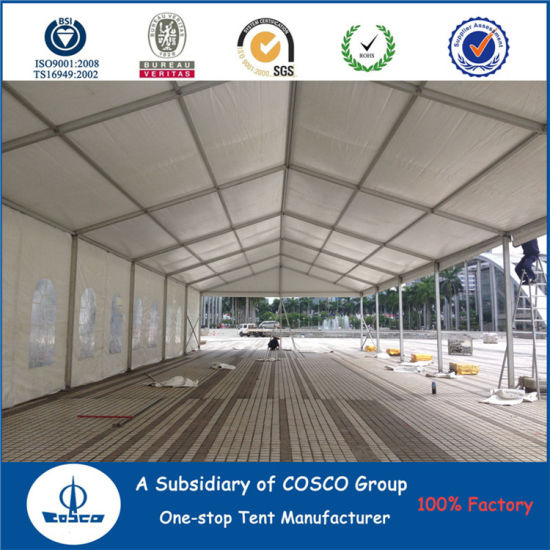Cosco Hot Sale Aluminium Waterproof Party Tent for Big Outdoor Events pictures & photos