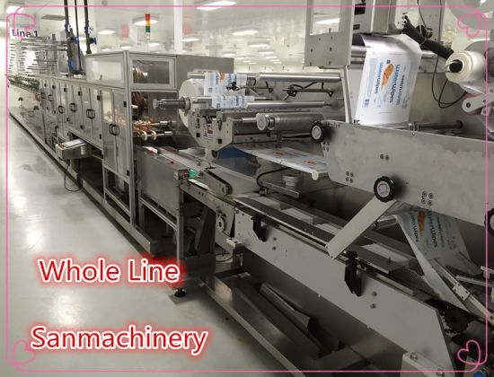 Eifficient Wet Wipes Production Line pictures & photos