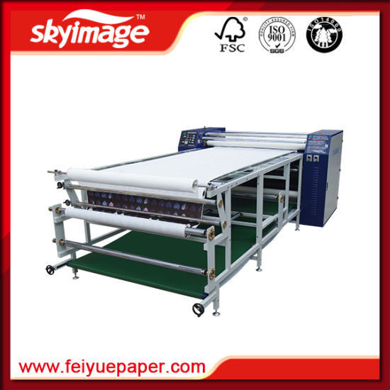 Roll to Roll Sublimation Heat Transfer Machine 420*1700mm for Sublimation Textile Transfer