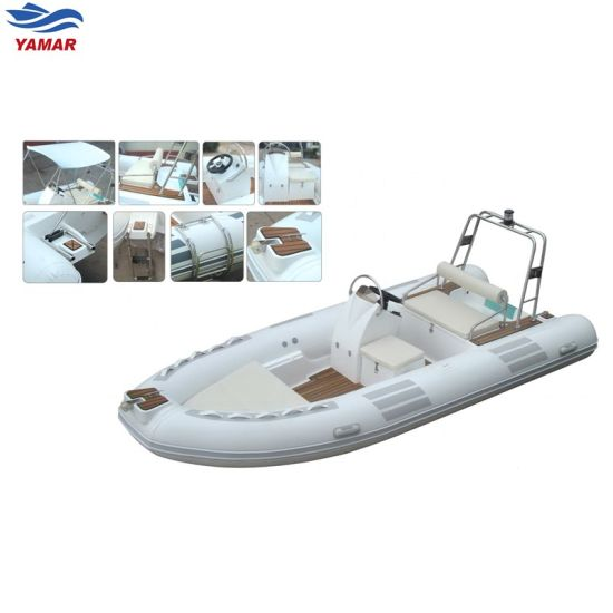 High Speed Water Rescue Rib Inflatable Boat