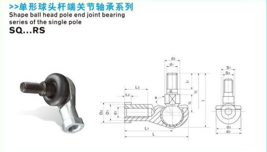 Ball Joint Bearing for Pneumatic Cylinder pictures & photos