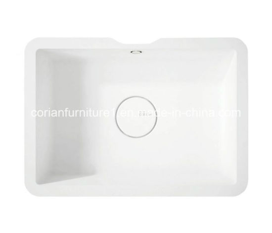 Non-Toxic Corian Solid Surface Washing Basin Sink pictures & photos