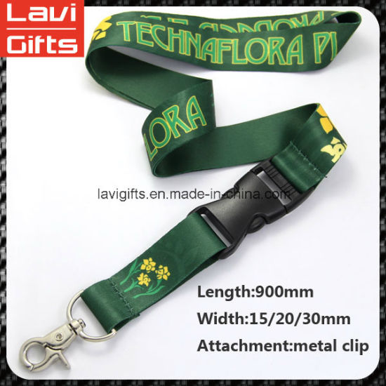 Sound Quality Lanyard Snap Hook with Printed pictures & photos