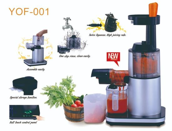 Household Electric Citrus Slow Juicer for Kitchen Food Processor Appliance
