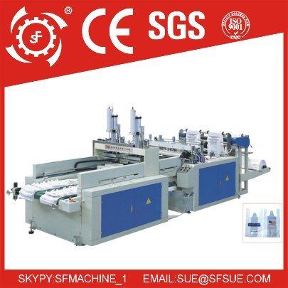 Dfr 450X2 Two Line Heat Sealing Heat Cutting Bag Making Machine
