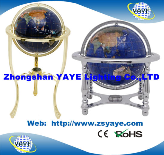 Gemstone World Map.China Yaye 18 Hot Sell 330mm 220mm 150mm 4 Legged Gemstone Globe