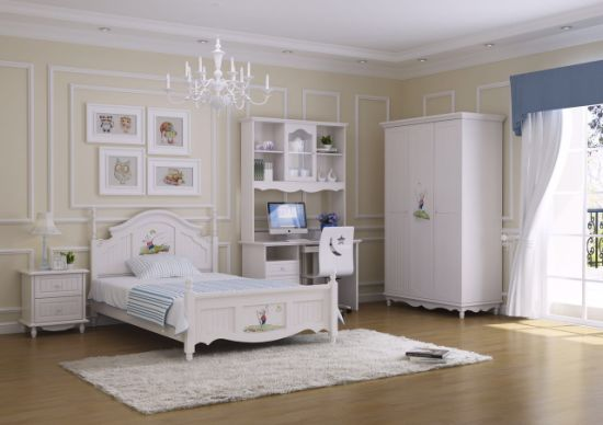 Hot Item Kids Bedroom Furniture With Glossy