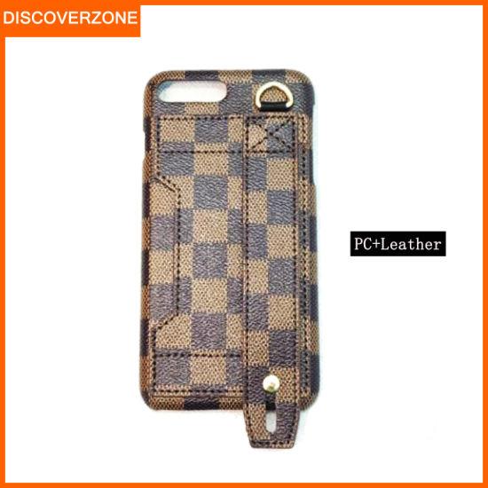 Retro Brands Partton PC+Leather Mobile Phone Case Wristband Card Slot Case