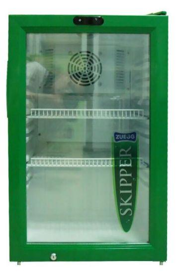 Glass Door Hotel and Home Use Mini Beverage Fridge (JGA-SC68)