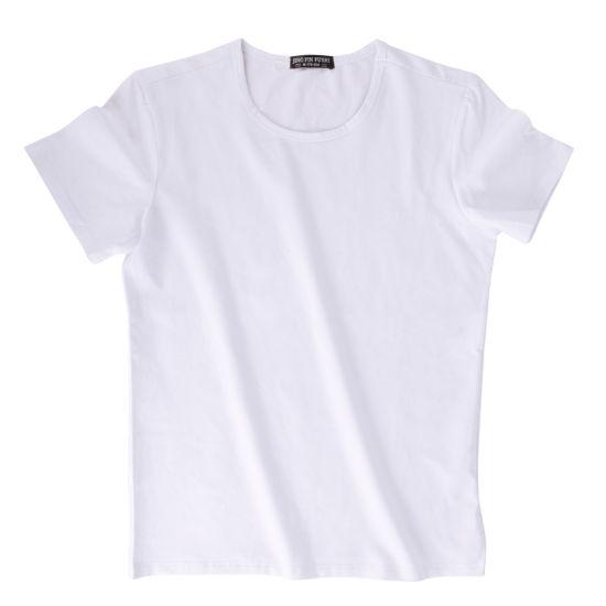 Solid Color T-Shirt Short-Sleeved Men's 100% Cotton Short Sleeves