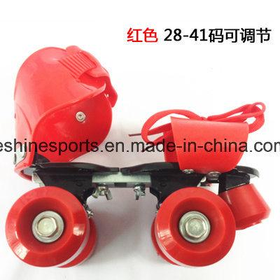 Adjustable 4 Wheel Roller Skating Shoes
