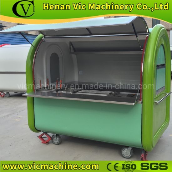 Mobile Kitchen Equipment With Trailer Hook