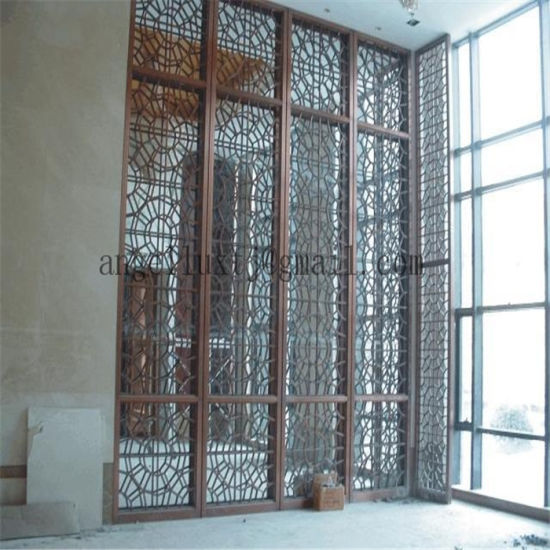 Suppy Hotel Project Decorative Wall Stainless Steel Art Screen Divider & China Suppy Hotel Project Decorative Wall Stainless Steel Art Screen ...