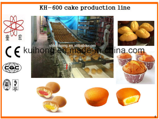 Kh-600 Factory Use Cup Cake Machine pictures & photos