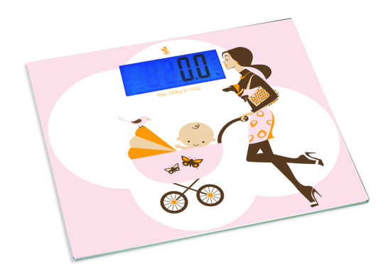 Electronic Memory Mother Baby Scale