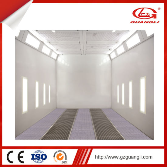 Guangli Manufacturer Ce Approved Advanced Industrial Paint Booth for Midsize Bus pictures & photos