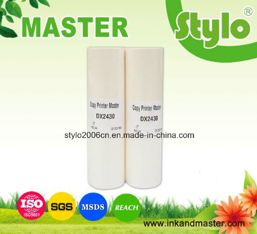 Dx2430 B4 Master From Ricoh Duplicator