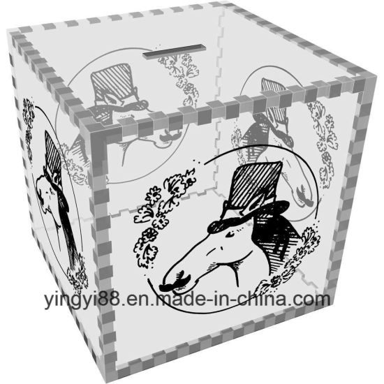 High Quality Acrylic Money Box Shenzhen Factory pictures & photos