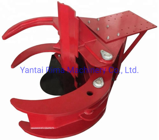 Elg300 Hydraulic Tree Cutter Shear Grapple for Excavator
