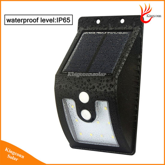16 LED Super Bright Waterproof Solar Powered Light Motion Sensor Outdoor Garden Patio Path Wall Mount Fence Security Lamp Lights pictures & photos