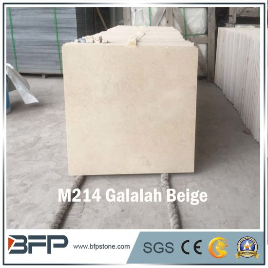 Polished Cheap M214 Galalah Beige Marble for Skirting Board and Villa Marble Floor Tile pictures & photos