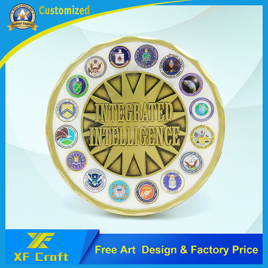 Professional Custom Zinc Alloy Enamel Craft Challenge Coins at Comptivite Price (XF-CO23) pictures & photos
