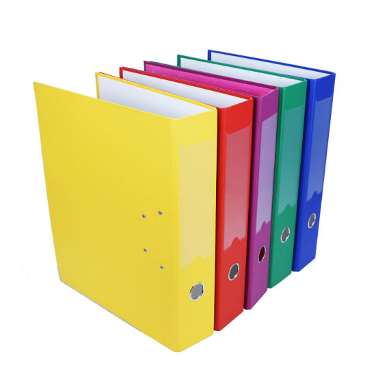 "Factory New Colorful 3"" A4 PVC Lever Arch File pictures & photos"