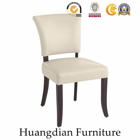 Wholesale Wooden Furniture Restaurant Fabric Dining Chair (HD455)