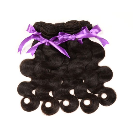 100% Human Hair Extension Body Wave Weft
