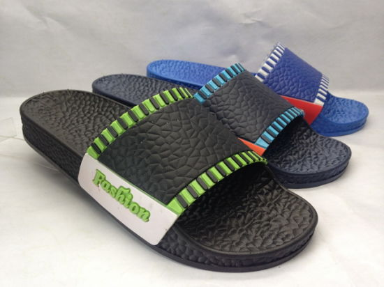 Air Blowing Pcu Slipper for Men Wholesale (24iw1603) pictures & photos