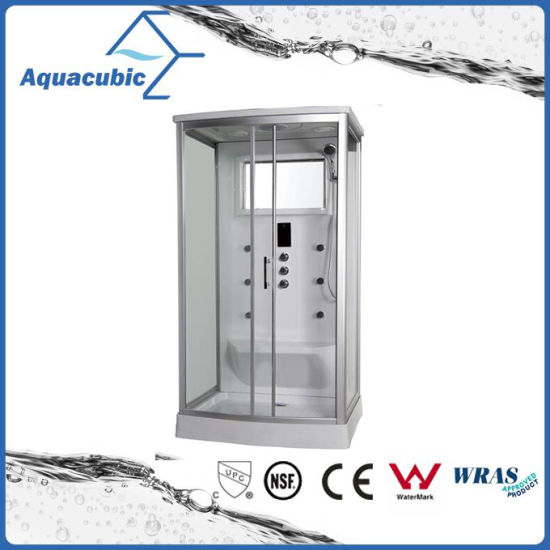Bathroom Tempered Glass Simple Shower Room (AS-2354) pictures & photos
