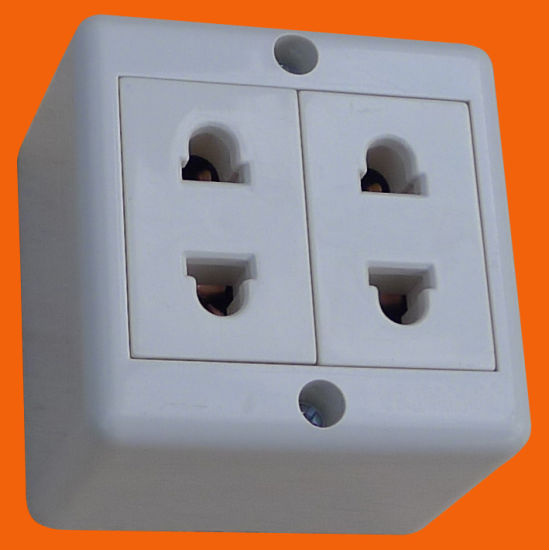 china european style surface mounted 2 pin wall socket double s2209 rh elendax en made in china com