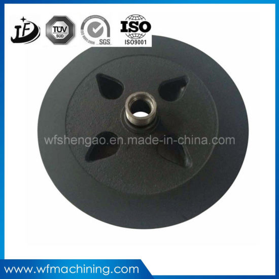 China Supply Ductile Iron/Sand Casting Flywheel for Exercise Bike pictures & photos