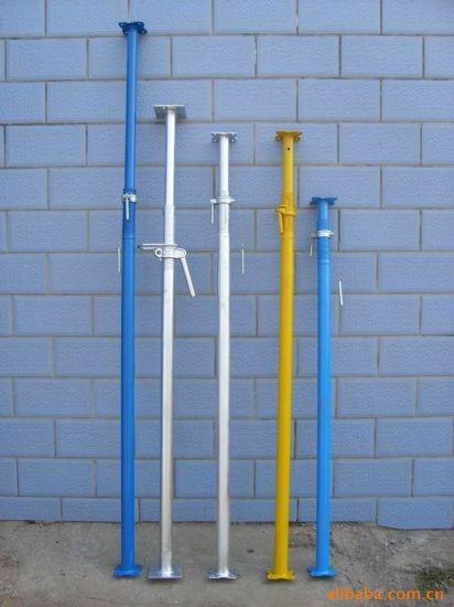 Adjusting Steel Scaffolding Jack Vertical Pipe Support Prop