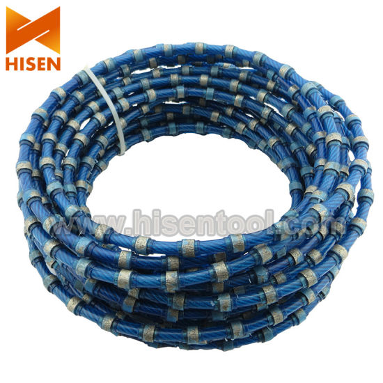 Diamond Cutting Wire for Granite Block Cutting pictures & photos